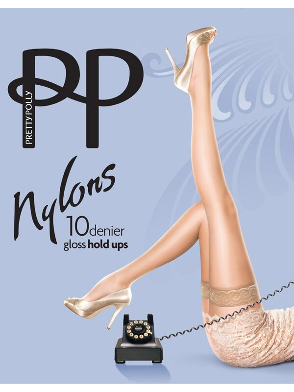 Pretty Polly Hold Ups 50er Optik Haut
