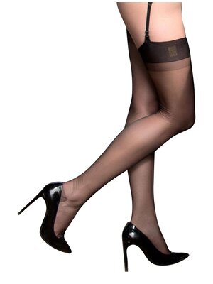 Maison Close Retro Nylons Schwarz