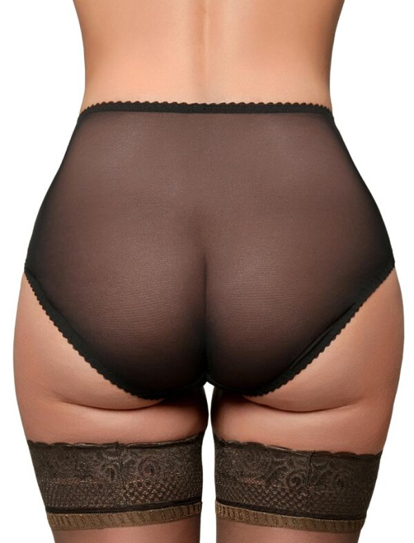 Betty Mesh Knickers Schwarz