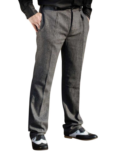 Gentlemans First Choice Collection Hose Grau