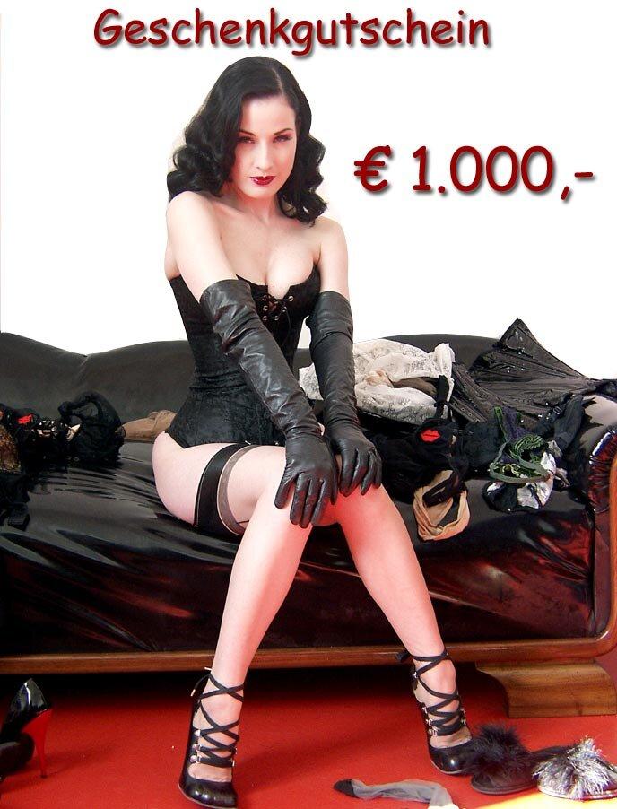 Gutschein 1000,- EUR