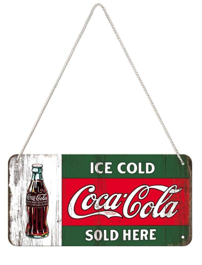 Image of Coca Cola Ice Cold Sold Here